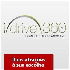 I-Drive 360: Icon Orlando 360 E SEA LIFE